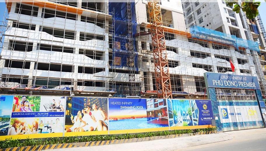 Tiến độ căn hộ Phú Đông Premier tháng 5/2020. Liên hệ 0901.866.979