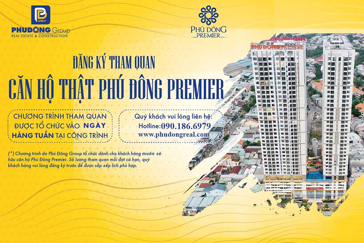 Hình Đăng ký tham quan thực tế căn hộ Phú Đông Premier